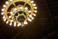 Ornate Antique Chandelier Royalty Free Stock Photo