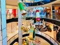 Christmas Decorations in Upmarket Shopping Mall, Sydney, Australia Royalty Free Stock Photo