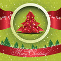 Ornate Christmas greeting card Royalty Free Stock Photo
