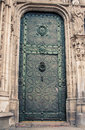 Ornate Church door Royalty Free Stock Photo