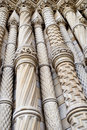 Ornate columns Stock Images