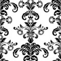 Ornate damask Stock Photo