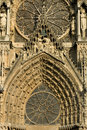 Ornate Decorations, Reims Royalty Free Stock Photos