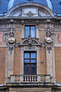 Ornate facade in baroque style Royalty Free Stock Photo
