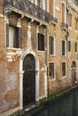 Ornate Facade of Venetian Home Royalty Free Stock Image