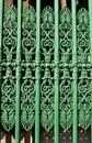 Ornate fence Royalty Free Stock Photo