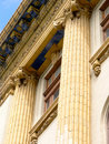 Ornate fluted columns Royalty Free Stock Photo