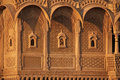 Ornate Indian Palace, Jaisalmer Royalty Free Stock Photo