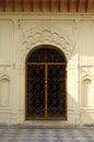 Ornate Iron Temple Gate Royalty Free Stock Photo