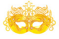 Ornate masks isolated on the white Royalty Free Stock Image