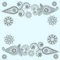Ornate Paisley Pattern