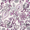 Ornate pattern in lilac and gray tones Royalty Free Stock Photo