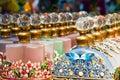 Ornate Perfume Bottles Royalty Free Stock Photo