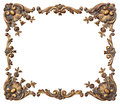 Ornate Photo Corners Royalty Free Stock Photo
