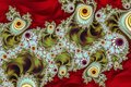 ornate fractal pattern Royalty Free Stock Photo