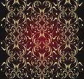 Ornate seamless texture Royalty Free Stock Photo