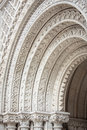 Ornate Stone Arches Royalty Free Stock Photo