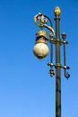 Ornate Street Lamp Stock Photos