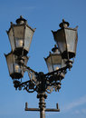 Ornate Street Lamps Royalty Free Stock Photo
