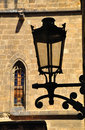Ornate street light. Royalty Free Stock Image