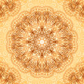 Ornate vintage seamless pattern in mehndi style vector Stock Photo