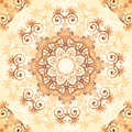 Ornate vintage vector pattern in mehndi style seamless Royalty Free Stock Photography