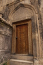 Ornated door of chapel Stock Photography