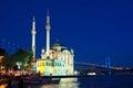 Ortakoy, Istanbul Royalty Free Stock Photo