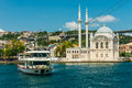 Ortakoy Mosque Royalty Free Stock Photo