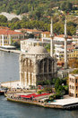 Ortakoy Mosque - bosporus - istanbul Royalty Free Stock Photo