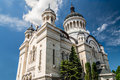 Orthodox cathedral of cluj alba crisana maramures the and was built between with an brancovean architecture in triconc style Royalty Free Stock Photography