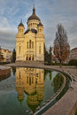 The orthodox cathedral in Cluj Napoca Royalty Free Stock Photo