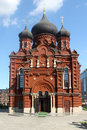Orthodox cathedral in Tula Stock Photos