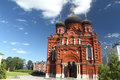 Orthodox cathedral in Tula Stock Photography