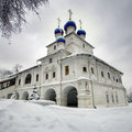 Orthodox chapel on the background of cloudy skyes Stock Photography