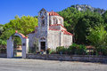Orthodox Christian Church at Rhodes Island, Greece Royalty Free Stock Photo