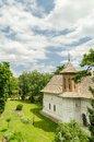 Orthodox church building in romania Stock Images