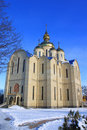 Orthodox church is built in 21 centuries. Stock Image