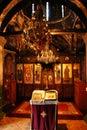 Orthodox Church interior Royalty Free Stock Photo