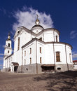 Orthodox church the located in the city of vitebsk belarus Stock Photos