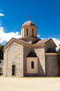 Orthodox church macedonia this is a picture of a small in Royalty Free Stock Photo