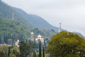 Orthodox church in New Athos Royalty Free Stock Photo
