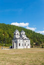 Orthodox church in republic of serbia Royalty Free Stock Photography