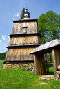 Orthodox church in rzepedz poland an old beskid niski mountains south eastern Royalty Free Stock Image