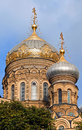 Orthodox Church in Saint-Petersburg Stock Photos
