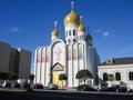 Orthodox church, San Francisco, California, USA Royalty Free Stock Photo