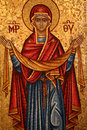 Greek Orthodox Icon Royalty Free Stock Photo