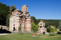 The orthodox monastery Kalenic in Serbia Royalty Free Stock Photo