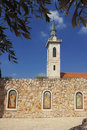 Orthodox  monastery in old Jerusalem Royalty Free Stock Photos