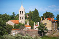 Orthodox monastery of rezevici serbian adriatic sea coast montenegro Royalty Free Stock Image